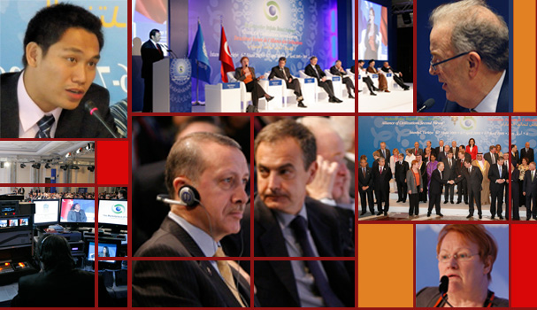 Scenes from the Istanbul Forum
