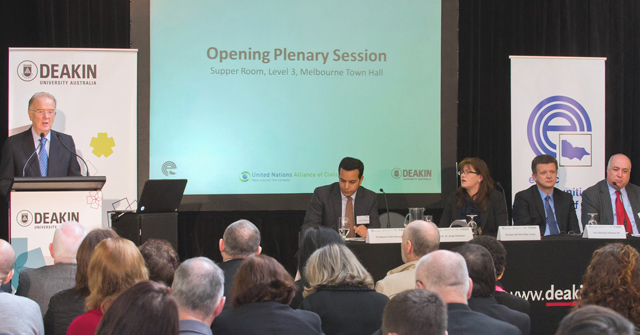 Diversity, Citizenship and Social Inclusion at the Integration: Building Inclusive Societies Forum in Melbourne