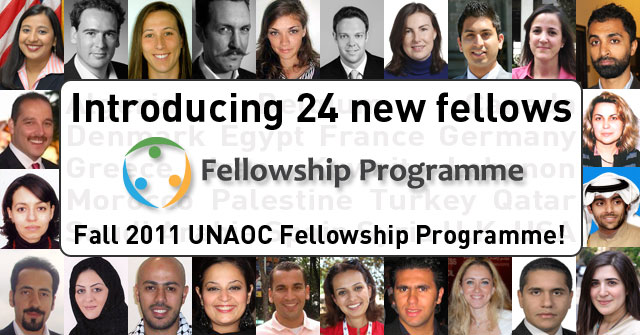 Introducing 24 new fellows for the Fall 2011 UNAOC Fellowship Program
