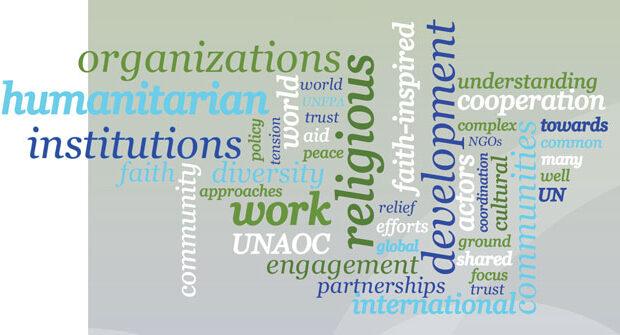 Bridging the divide in development and humanitarian work: Tag Cloud Art