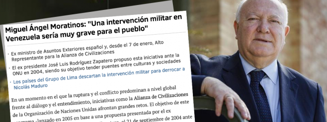 High Representative Miguel Moratinos Speaks with El Mundo about Solving Disputes through Dialogue and his Renewed Vision for UNAOC