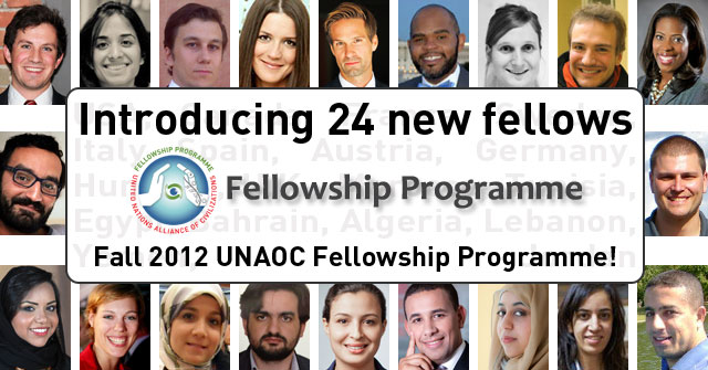 Fall 2012 New Fellows