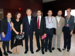 Fellows with the SG at the UNAOC Forum in Doha, Qatar