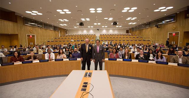 High Representative Al-Nasser and DSG Jan Eliasson Meet 100 Global Youth Leaders UNHQ