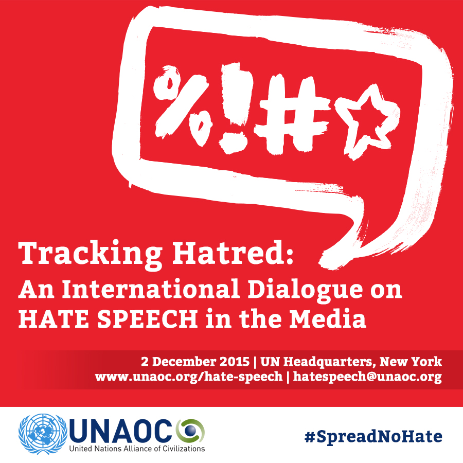 Hate Speech Conference - 2 December 2015 - United Nations Headquarters New York
