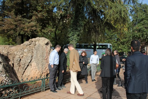 City of Ifrane, Morocco - 26 Oct. 2011