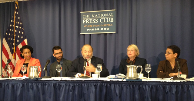Panel discussion on diversity in the media in Washington D.C.