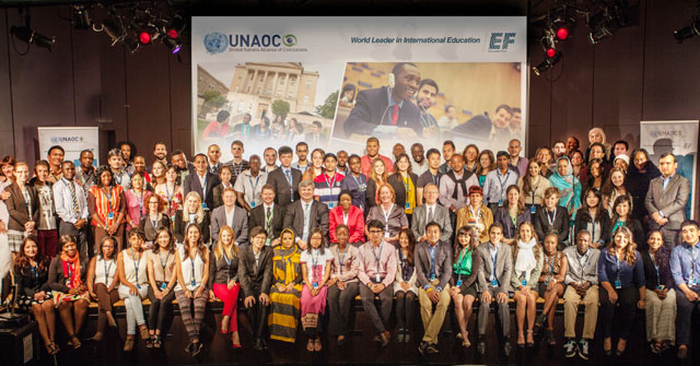 "United Nations Alliance of Civilizations (UNAOC) and EF Education First (EF) Announce  Their Third ""Youth for Change"" UNAOC-EF Summer School in NY"