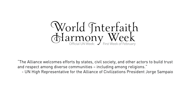 World Interfaith Harmony Week