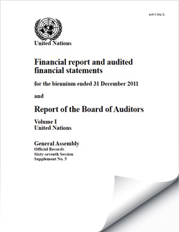 Biennium Financial Reports and Audited Financial Statements 2010-2011