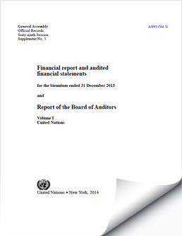 Biennium Financial Reports and Audited Financial Statements 2012-2013