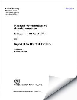 Financial Reports and Audited Financial Statements 2014