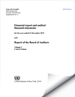 Financial Reports and Audited Financial Statements 2015