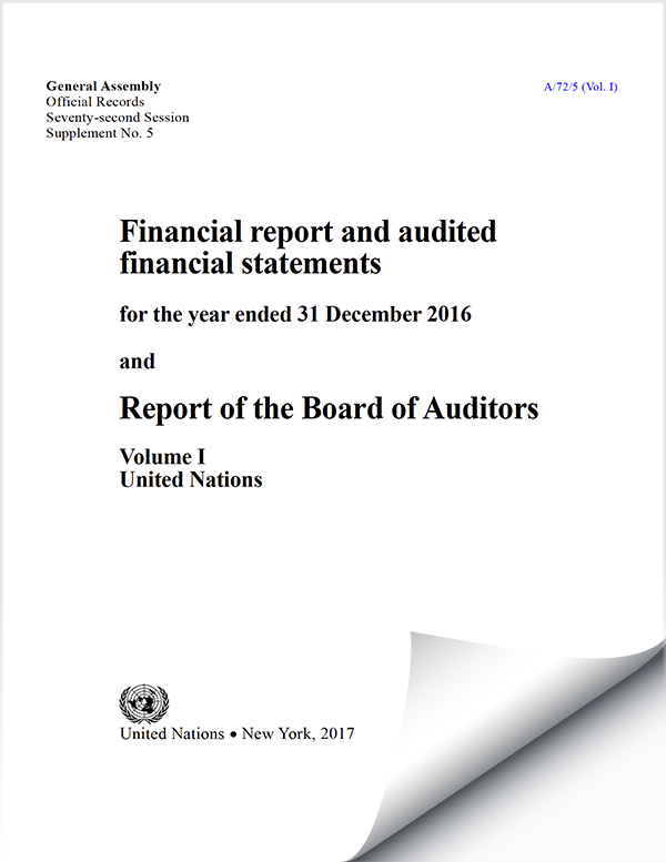 Financial Reports and Audited Financial Statements 2016