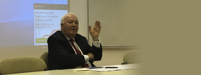 Lecture by Mr. Moratinos at Bilkent University