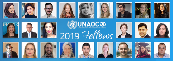 UNAOC announces the selection of 24 participants for the 2019 edition of its Fellowship Programme