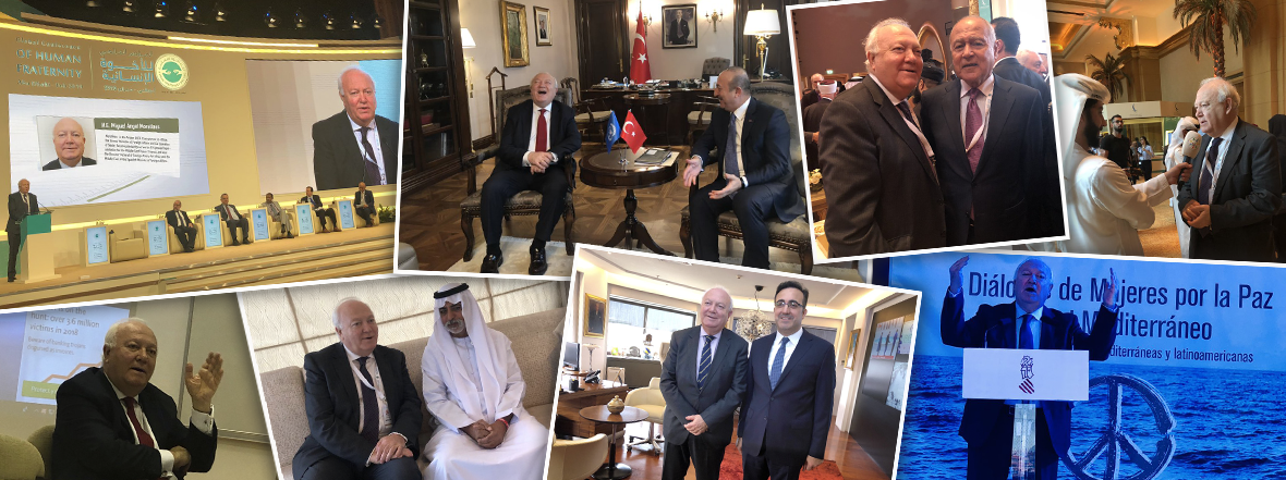 Mr. Miguel Moratinos, the High Representative for UNAOC, concludes a trip to Turkey, Spain and the UAE