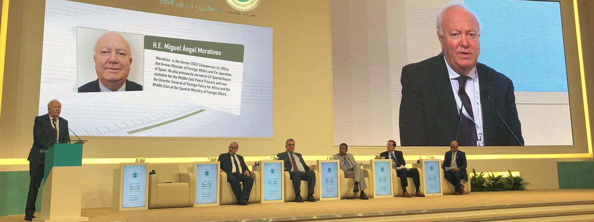 H.E. Mr. Moratinos' Remarks at the Global Conference of Human Fraternity