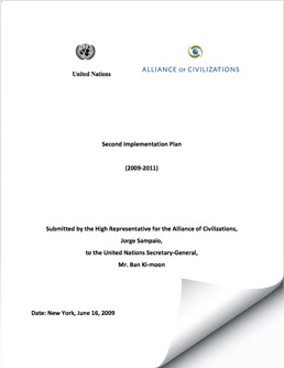 UNAOC Second Implementation Plan, 2009-2011