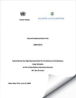 UNAOC Second Implementation Plan, 2009-2011