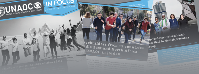 "UNAOC Releases 4th Edition of ""In Focus"" Newsletter"
