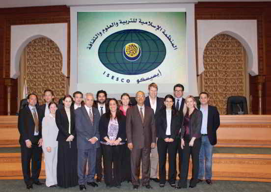 UNAoC Fellows as ISESCO HQ, Spring 2012