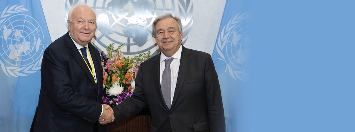 Mr. Miguel Angel Moratinos, the new High Representative for UNAOC Assumes his post in New York