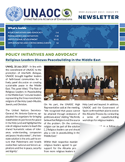 UNAOC Newsletter – Issue 9