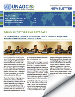UNAOC Newsletter – Issue 4