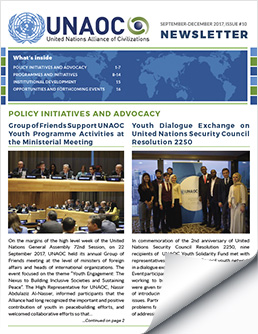UNAOC Newsletter – Issue 10