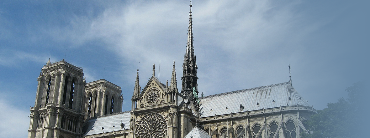 Press Statement on the Fire at Notre Dame Cathedral in Paris, France
