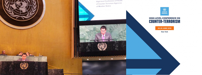 H.E. Al-Nasser's Remarks at the UN High-level Conference on Counter-Terrorism