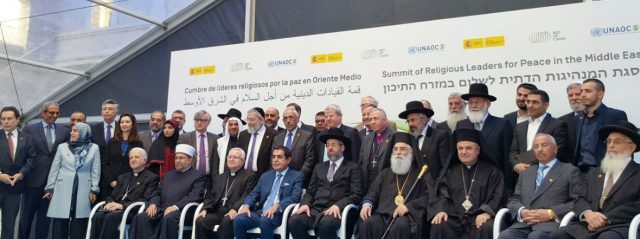 Press Statement on the Summit of Religious Leaders for Peace in the Middle East – Spain