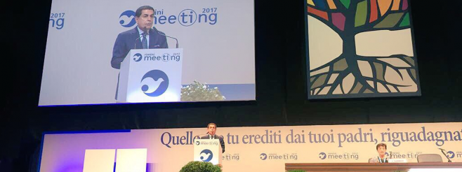 H.E. Al-Nasser's Remarks at the 38th Rimini Meeting for Friendship Amongst Peoples: 'The Mediterranean: Building Bridges, Tearing Down Walls'
