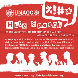 International Dialogue on Hate Speech in the Media | UNAOC
