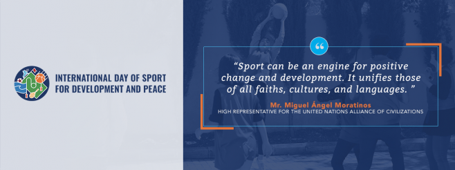 Press Statement on the International Day of Sport for Development and Peace