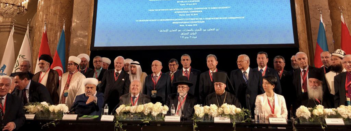 High Representative's Remarks at the Vienna Conference on Interfaith and Intercivilizational Cooperation