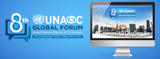 UNAOC launches website of the 8th Global Forum of the United Nations Alliance of Civilizations