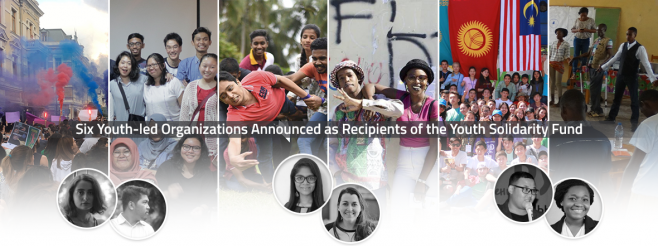 Six Youth-led Organizations Announced as Recipients of the Youth Solidarity Fund